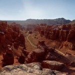Magnificent view of Charyn Canyon