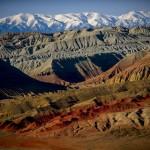 Fantastic landscapes of Katautau Mountains