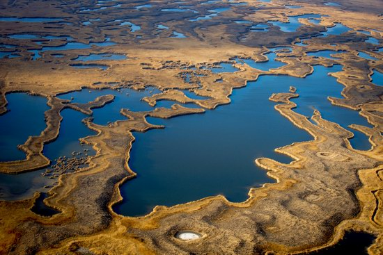 Aerial view of the Ili River, Kazakhstan, photo 3