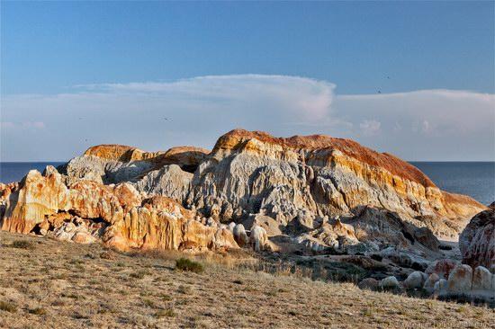 Flaming sand of Lake Zaysan, Kazakhstan, photo 13