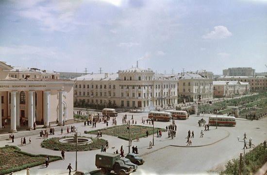 Temirtau, Kazakhstan, USSR