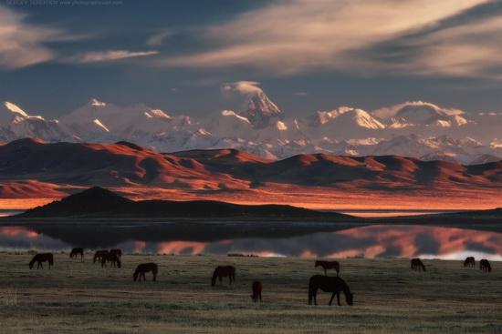 Tuzkol Lake, Kazakhstan