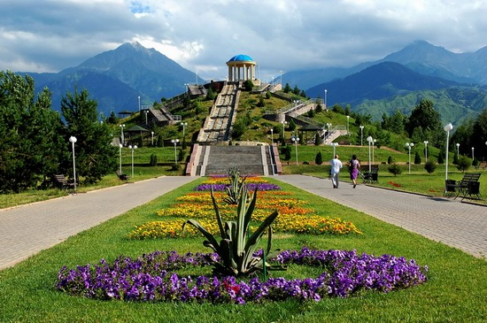 The park of the First President, Almaty, Kazakhstan, photo 1