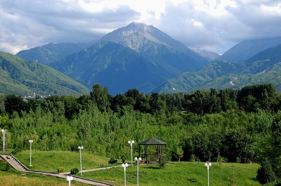 The park of the First President, Almaty, Kazakhstan, photo 11