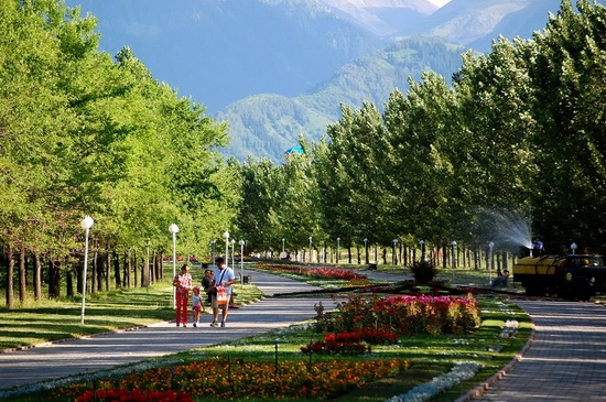 The park of the First President, Almaty, Kazakhstan, photo 14