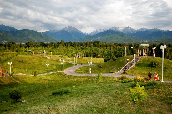 The park of the First President, Almaty, Kazakhstan, photo 15