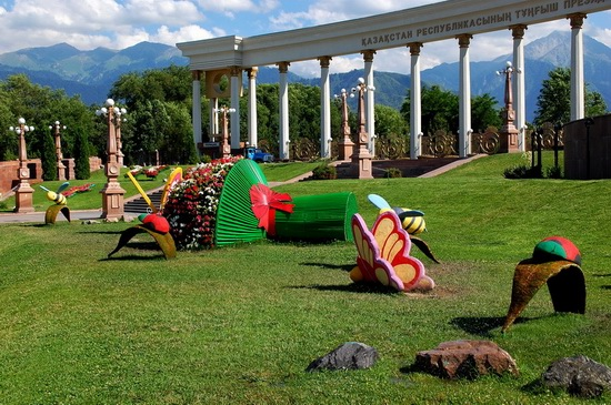 The park of the First President, Almaty, Kazakhstan, photo 3