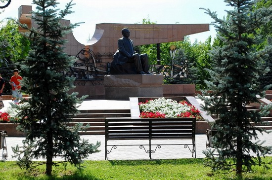 The park of the First President, Almaty, Kazakhstan, photo 4