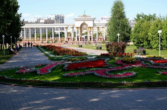 The park of the First President, Almaty, Kazakhstan, photo 5