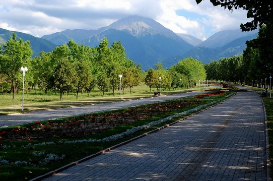 The park of the First President, Almaty, Kazakhstan, photo 7