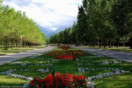 The park of the First President, Almaty, Kazakhstan, photo 8