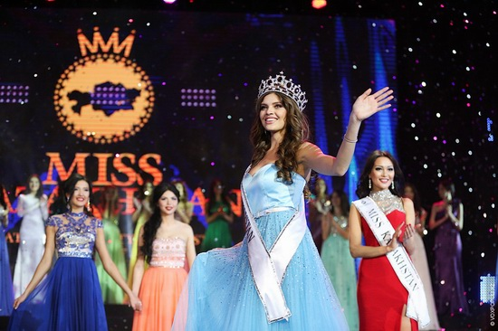 The Beauty Contest Miss Kazakhstan 2014, photo 18