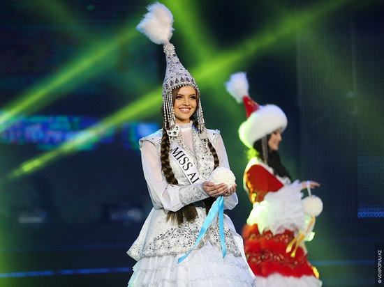 The Beauty Contest Miss Kazakhstan 2014, photo 4