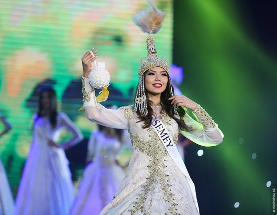 The Beauty Contest Miss Kazakhstan 2014, photo 7