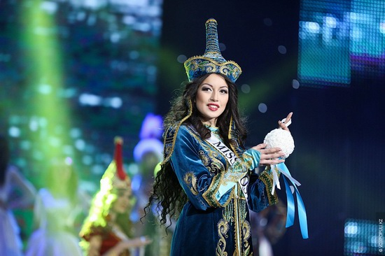 The Beauty Contest Miss Kazakhstan 2014, photo 8