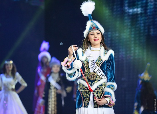 The Beauty Contest Miss Kazakhstan 2014, photo 9
