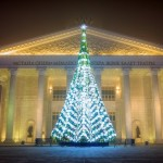 The New Year holidays in Astana and Almaty