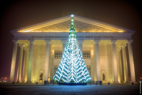 The New Year holidays in Astana and Almaty, Kazakhstan, photo 1