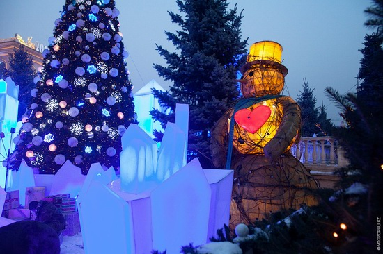 The New Year holidays in Astana and Almaty, Kazakhstan, photo 10