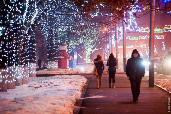 The New Year holidays in Astana and Almaty, Kazakhstan, photo 11