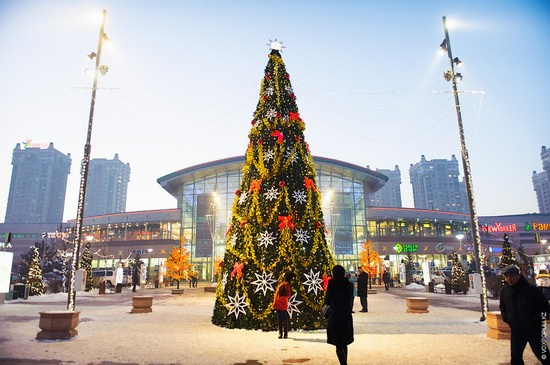 The New Year holidays in Astana and Almaty, Kazakhstan, photo 17