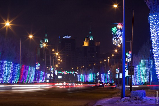 The New Year holidays in Astana and Almaty, Kazakhstan, photo 2