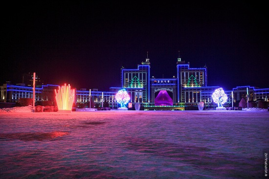 The New Year holidays in Astana and Almaty, Kazakhstan, photo 3