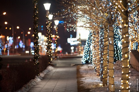 The New Year holidays in Astana and Almaty, Kazakhstan, photo 7
