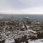 Almaty – the view from the TV tower