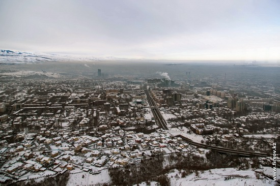 Almaty - the view from the TV tower, Kazakhstan, photo 1
