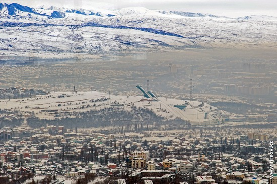 Almaty - the view from the TV tower, Kazakhstan, photo 2