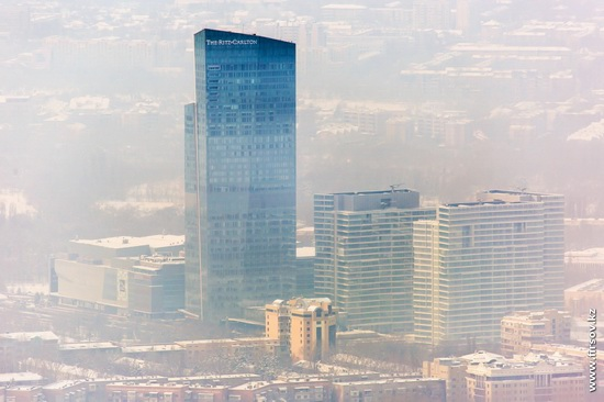 Almaty - the view from the TV tower, Kazakhstan, photo 9