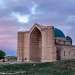 The Mausoleum of Khoja Ahmed Yasawi in Turkestan