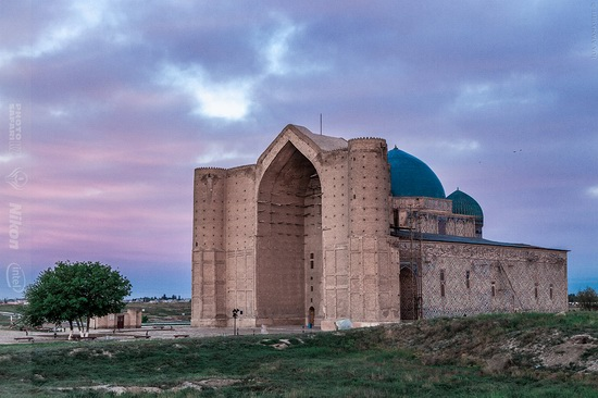 Khoja Ahmed Yasawi Mausoleum, Kazakhstan, photo 1
