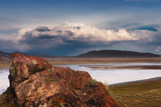 Lake Tuzkol landscape, Kazakhstan, photo 14