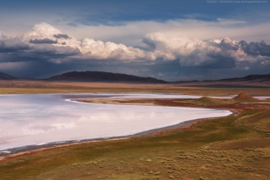 Lake Tuzkol landscape, Kazakhstan, photo 15