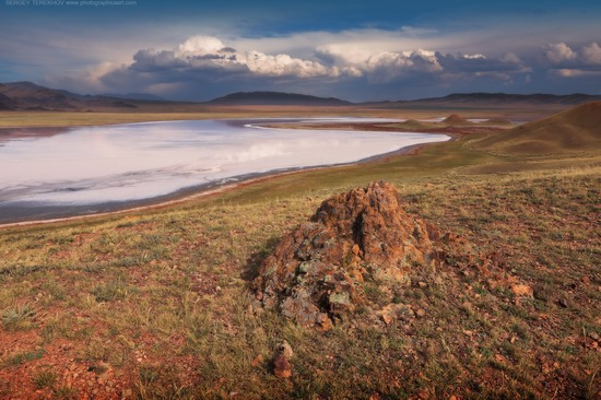 Lake Tuzkol landscape, Kazakhstan, photo 16