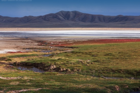 Lake Tuzkol landscape, Kazakhstan, photo 9
