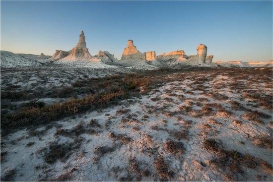 Akkergeshen limestone plateau, Atyrau region, Kazakhstan, photo 1