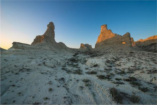 Akkergeshen limestone plateau, Atyrau region, Kazakhstan, photo 2