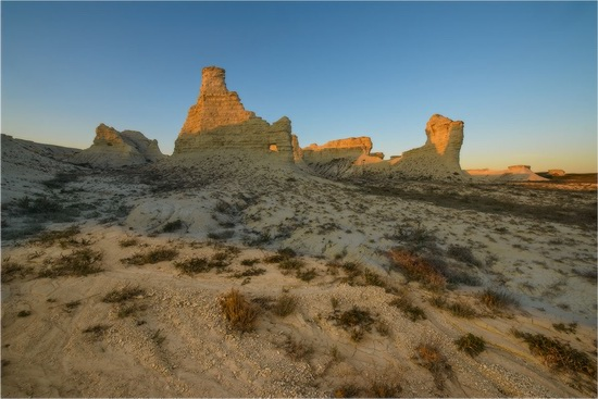 Akkergeshen limestone plateau, Atyrau region, Kazakhstan, photo 4