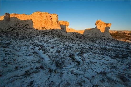 Akkergeshen limestone plateau, Atyrau region, Kazakhstan, photo 5