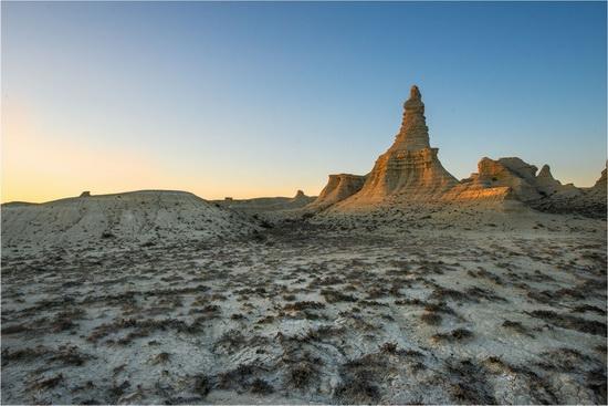 Akkergeshen limestone plateau, Atyrau region, Kazakhstan, photo 6