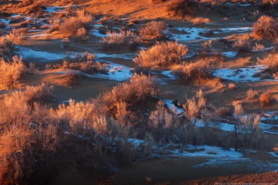 Saryesik-Atyrau desert, Kazakhstan, photo 9