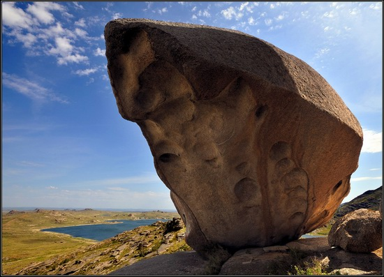 Giant rocks, Lake Okunki, East Kazakhstan, photo 4