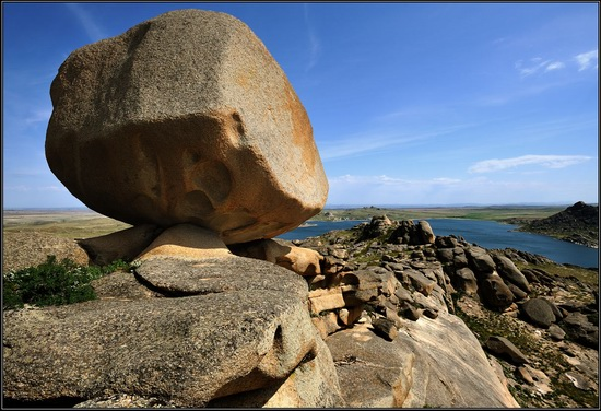 Giant rocks, Lake Okunki, East Kazakhstan, photo 5