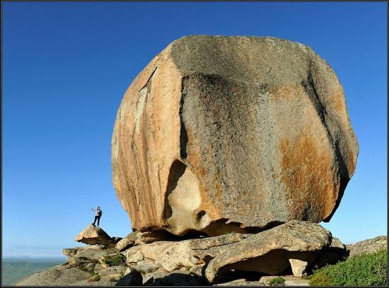 Giant rocks, Lake Okunki, East Kazakhstan, photo 6