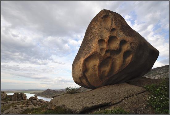 Giant rocks, Lake Okunki, East Kazakhstan, photo 7