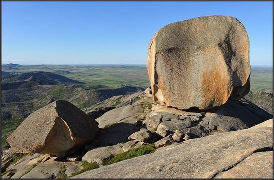 Giant rocks, Lake Okunki, East Kazakhstan, photo 8