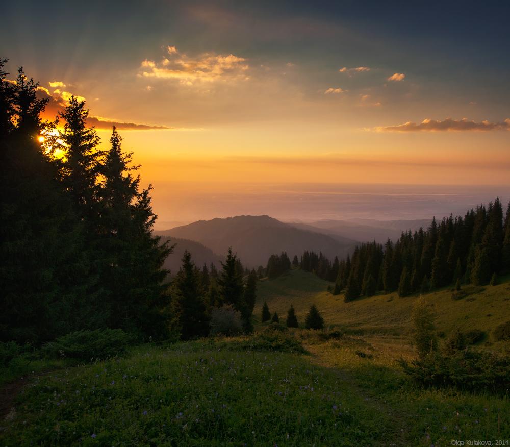 Travel Scenery: Beautiful Scenery Of Kim-Asar Valley · Kazakhstan Travel